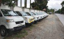 Bán Suzuki đầu to đời 2016, nhập khẩu Indonesia, thùng kín, xe chạy ít