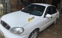 Cần bán gấp Daewoo Lanos SX đời 2002, màu trắng số sàn