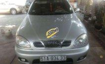 Bán xe Daewoo Lanos SX sản xuất 2002, màu bạc