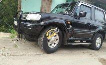 Bán Hyundai Galloper 2.5 MT sản xuất 2003, màu đen, xe nhập