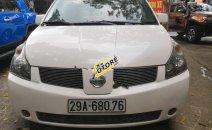 Bán Nissan Quest SL 3.5 V6 sản xuất năm 2005, màu trắng, nhập khẩu