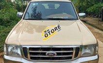 Cần bán gấp Ford Ranger sản xuất năm 2002, màu vàng, giá tốt