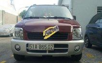 Bán Suzuki Wagon R sản xuất 2001, màu đỏ xe gia đình