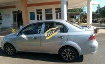 Cần bán Chevrolet Aveo 2009, màu bạc số sàn