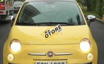 Bán Fiat 500 đời 2009, màu vàng, xe nhập số tự động, giá tốt