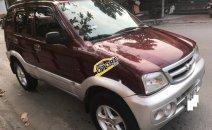 Cần bán xe Daihatsu Terios 1.3 MT 4WD sản xuất 2006, màu đỏ số sàn