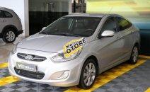 Bán xe Hyundai Accent 1.4AT đời 2012, màu bạc, nhập khẩu giá cạnh tranh