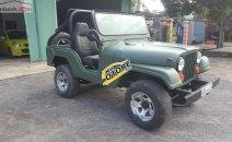 Cần bán lại xe Jeep CJ sản xuất 1990, màu xanh lam, xe nhập