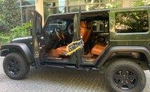 Cần bán Jeep Wrangler Sahara Unlimited đời 2009, màu xanh lam, xe nhập