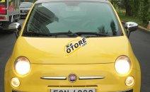 Bán Fiat 500 1.2 AT đời 2009, màu vàng, nhập khẩu