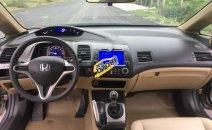 Cần bán lại xe Honda Civic MT năm sản xuất 2010, màu bạc giá cạnh tranh