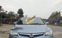 Cần bán xe Honda Civic 1.8 MT sản xuất 2007, màu xanh lam số sàn