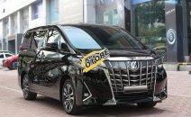 Giảm giá cuối năm chiếc xe nhập khẩu chính hãng Toyota Alphard đời 2019, màu đen