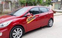 Bán Hyundai Accent 1.4 AT sản xuất 2014, màu đỏ, nhập khẩu nguyên chiếc, giá chỉ 430 triệu