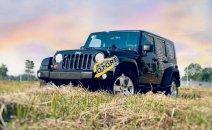 Bán xe Jeep Wrangler Sahara đời 2009, màu đen, xe nhập chính hãng