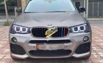 Bán xe BMW X4 đời 2015, màu xám, nhập khẩu chính hãng