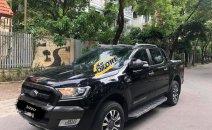 Bán Ford Ranger Wildtrak 3.2 đời 2016, màu đen, nhập khẩu