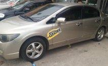 Cần bán lại xe Honda Civic 1.8 mt đời 2008, màu vàng