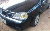 Cần bán lại xe Daewoo Lacetti đời 2005, màu đen số sàn, giá tốt
