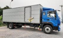 Mua xe tải - Giá phải chăng, Thaco Auman C160. E4 thùng mui kín, năm 2019, màu xanh lam