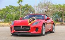 Bán giảm giá cuối năm chiếc xe Jaguar F-Type Convertible R 5.0L, đời 2017, màu đỏ, nhập khẩu nguyên chiếc