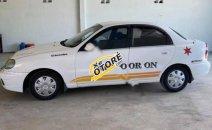 Bán xe Daewoo Lanos SX đời 2001, màu trắng giá cạnh tranh