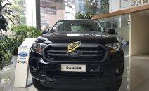 Bán xe Ford Ranger XLT năm 2019, màu đen, nhập khẩu, giá tốt