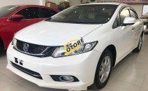 Bán Honda Civic 1.8 AT 2015, màu trắng, giá tốt