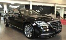 Mercedes-Benz S450 Luxury 2021 cũ, màu đen- kem, chính hãng tốt nhất