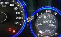 Cần bán lại xe Honda City CVT đời 2015, màu đỏ, 450tr