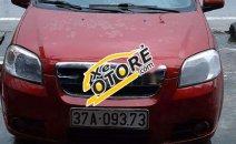 Xe Daewoo Gentra MT sản xuất năm 2007, màu đỏ