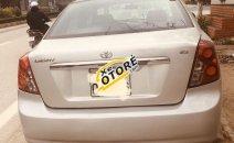 Bán xe Chevrolet Lacetti năm sản xuất 2009, màu bạc