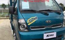 Cần bán xe tải hạng nhẹ, máy dầu: Kia Frontier K250 đời 2018, màu xanh lam