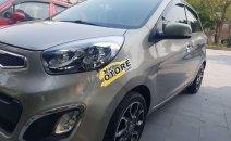 Cần bán lại xe Kia Picanto đời 2013, màu ghi vàng