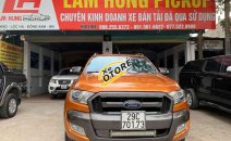 Bán ô tô Ford Ranger Wildtrak đời 2015, màu cam cá tính, nhập khẩu