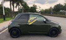 Bán ô tô Fiat 500 sản xuất năm 2009, màu đen, nhập khẩu nguyên chiếc giá cạnh tranh