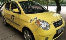 Cần bán gấp Kia Morning SLX AT đời 2011, màu vàng, nhập khẩu nguyên chiếc còn mới