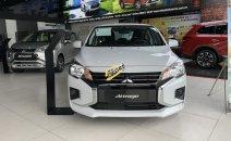 Mitsubishi Quảng Nam bán xe Mitsubishi Attrage 1.2 CVT đời 2020, màu trắng