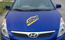 Bán xe Hyundai i20 đời 2011, màu xanh lam, xe nhập