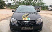 Bán xe Toyota Vios 1.5MT sản xuất năm 2007, màu đen, giá chỉ 148 triệu