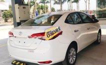 Bán xe Toyota Vios 1.5G 2020, màu trắng, giá tốt