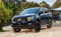 Bán xe Ford Everest Titanium 4WD đời 2020, màu đen, tặng phụ kiện chính hãng