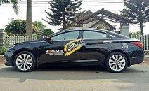 Bán xe Hyundai Sonata năm sản xuất 2011 số tự động, 448tr