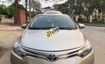 Cần bán lại xe Toyota Vios sản xuất 2017, màu vàng