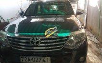 Cần bán Toyota Fortuner năm sản xuất 2012, màu đen, xe chính chủ