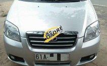 Cần bán gấp Daewoo Gentra sản xuất năm 2009, màu bạc xe gia đình, giá tốt