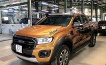 Bán Ford Ranger Wildtrak 2.0L năm 2018, màu nâu, xe nhập Thái