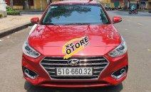 Bán Hyundai Accent năm sản xuất 2018, màu đỏ, xe mới 98%