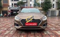 Bán Hyundai Accent năm 2018, màu nâu