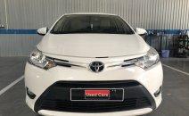 (Hãng) Cần bán xe Toyota Vios 1.5E CVT 2018, màu trắng, đi 45.182, giá tốt